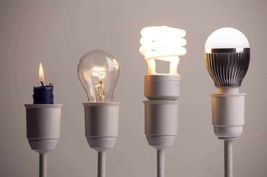 History of LED lights